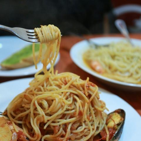 還不錯,平價吃粗飽的Pasta
